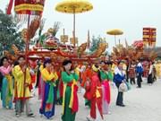 富寿省妪姬国母庙会热闹开场