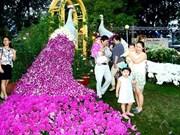 2018年戊戌新春花展吸引众多游客前来参观(组图)