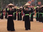越南宣光省隆东节热闹登场