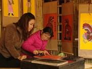 越南传统年画焕发新生机与活力