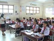 在老挝教越南语   顺利与困难