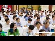 阮春福会见全国新闻工作者代表