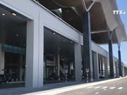 庆和省金兰国际机场国际航站楼竣工投运