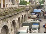 河内铁路拱桥改造   为首都带来新面貌