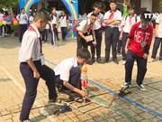 胡志明市学校努力激发学生科技梦