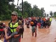 老挝一水电站大坝坍塌  越南领导人为此致慰问电