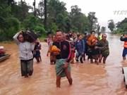 越南为老挝克服水电站大坝坍塌事故提供协助