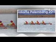 赛艇为越南体育代表团收获本届亚运会首枚金牌