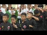 2018年第二届越南传统武术国际节击鼓开节