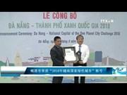 """岘港市荣获""""2018年越南国家绿色城市""""称号"""