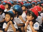 提高家长为儿童佩戴头盔的交通安全意识
