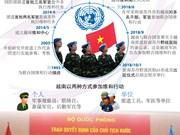 图表新闻:越南为联合国维和行动作出贡献