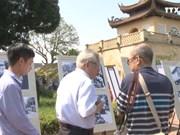 庆祝首都解放64周年的展览会开展