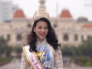越南佳丽摘下2018地球小姐桂冠