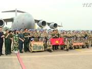 越南军官全力以赴完成联合国维和使命