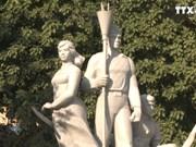 """""""为祖国永生而决死""""的前辈们重温民族豪迈历史"""