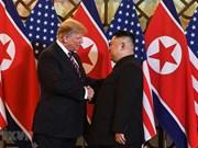 美朝领导人开始举行第二次会晤