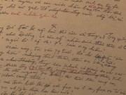 胡志明主席遗嘱--珍贵无比的历史性文件