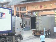 谅山省努力解决新青口岸货物拥堵现象