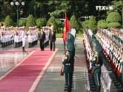 缅甸总统吴廷觉来越访问