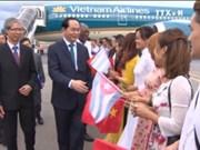越南国家主席陈大光与夫人对古巴共和国进行正式访问
