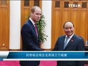 阮春福总理会见英国王子威廉