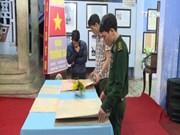 """""""黄沙、长沙归属越南""""资料图片展在富安省举行"""