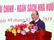 阮春福总理:2018年越南财政收入超出既定目标