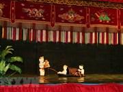 越南水木偶吸引外国游客