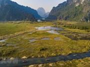 云龙湿地自然保护区成为越南第九个拉姆萨尔湿地