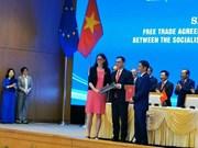 越南与欧盟正式签署EVFTA与EVIPA
