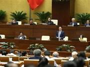 越南第十四届国会第八次会议:越南通信传媒部部长阮孟雄回答质询(组图)