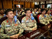 越南二号二级野战医院赴联合国驻南苏丹特派团执行任务(组图)