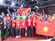 组图:越南克拉术队在第30届东南亚运动会上取得优异成绩