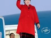组图:越南国会主席阮氏金银开始对白俄罗斯进行正式访问