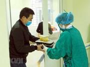 组图:海防市医务人员精心照顾中国疑似患者
