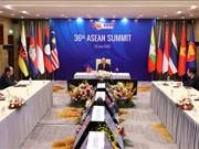 组图:第36届东盟峰会全体会议以视频形式召开