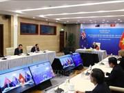 组图:越新两国总理举行高级会谈  探讨建立战略伙伴关系问题