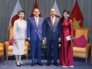 组图:日本首相菅义伟与夫人圆满结束对越南进行的正式访问之旅