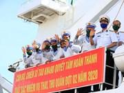组图:海军第4军区工作团前往长沙岛