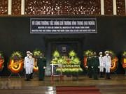 组图:原越南政府副总理张永仲吊唁仪式隆重举行