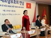 越南国会主席阮氏金银会见越韩友好人士