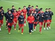 AFF Suzuki Cup 2018:越南球队为决赛第二回合做好充分的准备(组图)