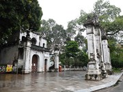 组图:农历三月十五:河内市居民不前往寺庙  做好新冠病肺炎疫情防控工作