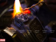 组图:顺化国宝铸造业