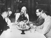 组图:在抗美救国和北部社会主义建设事业中的胡主席形象(1961 -1965年阶段)