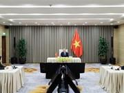 组图:越南政府总理阮春福出席第73届世界卫生大会视频会议