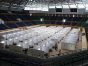 组图:岘港市仙山体育宫野战医院基本竣工