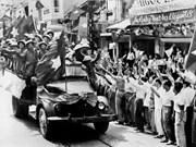 组图:解放之日的河内——首都河内翻开新历史篇章