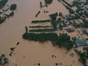 组图:广治省特大洪水不断袭来  笼罩面积巨大